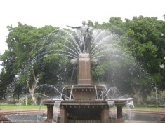 The Archibald fountain from another angle