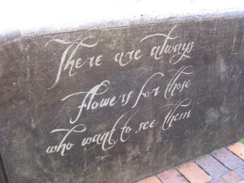 """Graffitti"" along the street path up the Sydney Harbour Bridge"