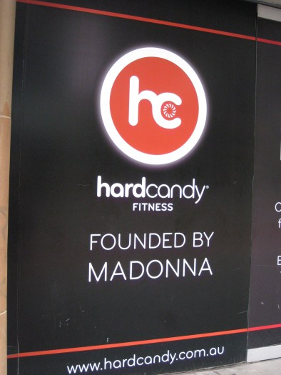 Walking back into downtown we stumbled across an unusual gym chain, apparently founded by Madonna. Who knew?!