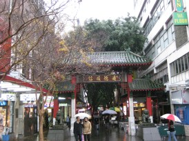 As the rain commenced again, we stumbled our way into China Town en route to a giant indoor Market and then back to the train station for a soggy trip home