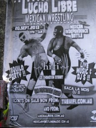 ...and posters (this reminds me of my Spring Break trip to Mexico)