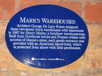 #16: Warehouses from the 1880s