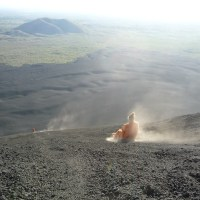 Boarding Down an Active Volcano in Nicaragua