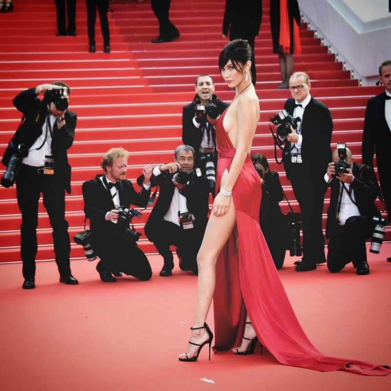 Bella Hadid cannes red carpet 23