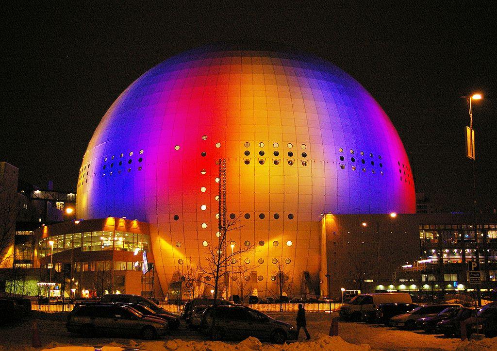 sweden stockholm globen arena