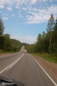 Дорога в Карелию