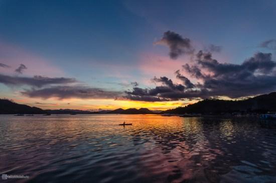 Закат. Вид из La Sirenetta