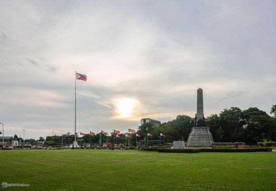 Rizal Park. Manila