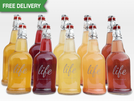 LIFE | 10-Pack Water Kefir (FREE DELIVERY)