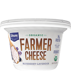 Blueberry Lavender Organic Farmer Cheese