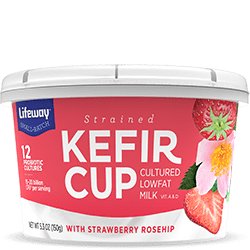Strawberry Rosehip Kefir Cup