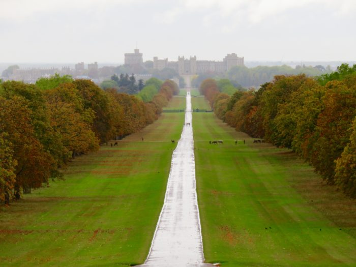 windsor castle views windsor great park