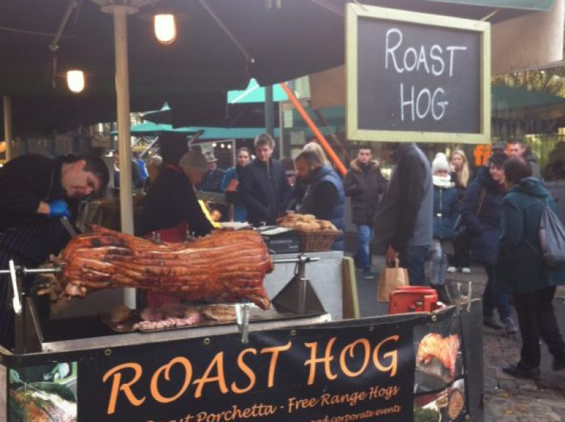 roast hog borough market london image