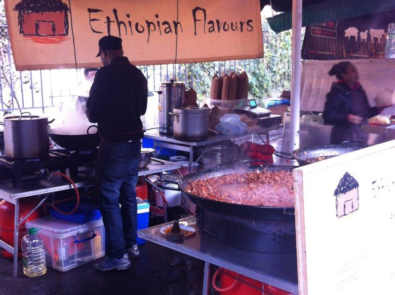 ethiopian flavours borough market london image