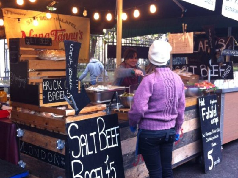 salt beef borough market london image