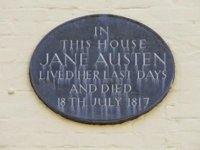 jane austen last house