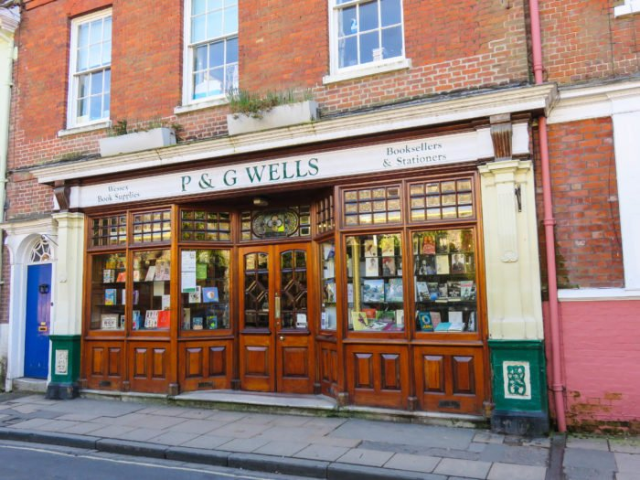 p and g wells winchester england