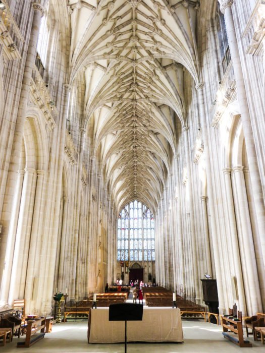 winchester cathedral interior