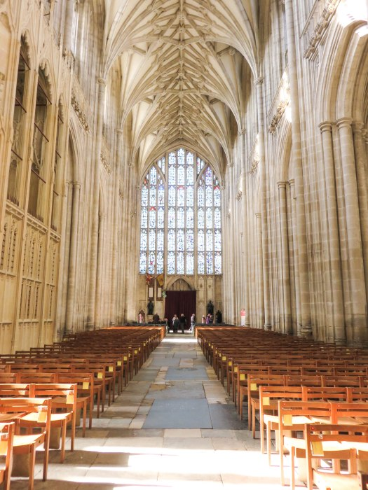 winchester cathedral main aisle