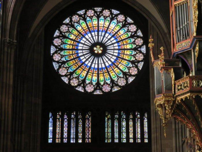 strasbourg cathedral rose window