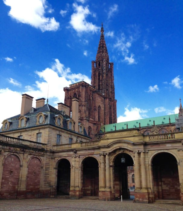 strasbourg views of cathedral