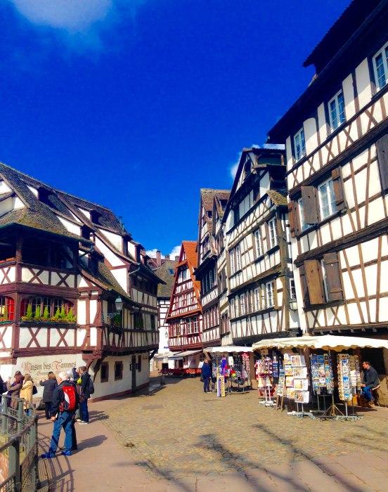 strasbourg architecture timbered housing