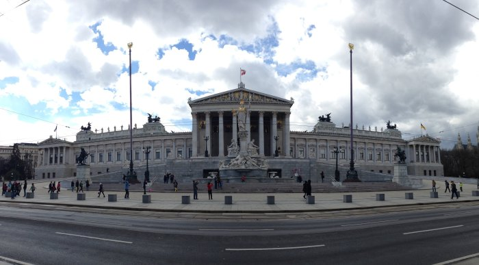 vienna parliament photo