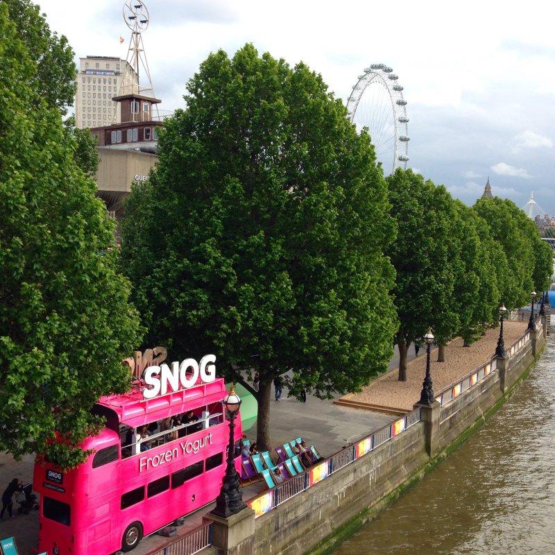 snog frozen yogurt london southbank centre the eye thames waterloo bridge