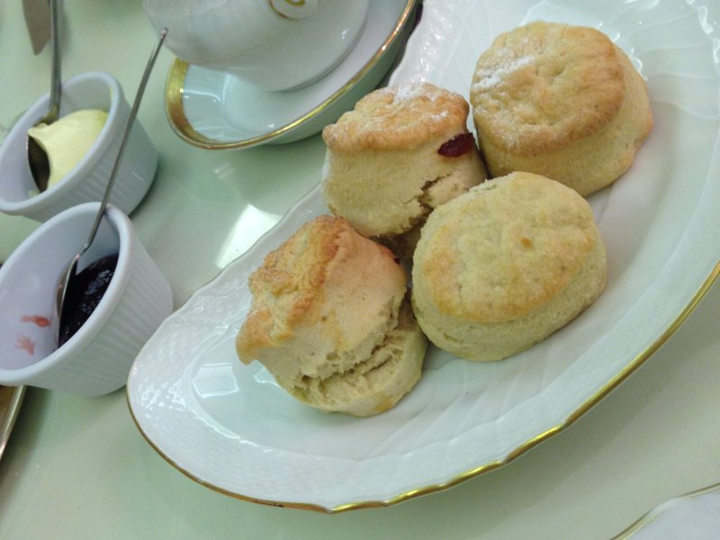 the bentley hotel london afternoon tea scones