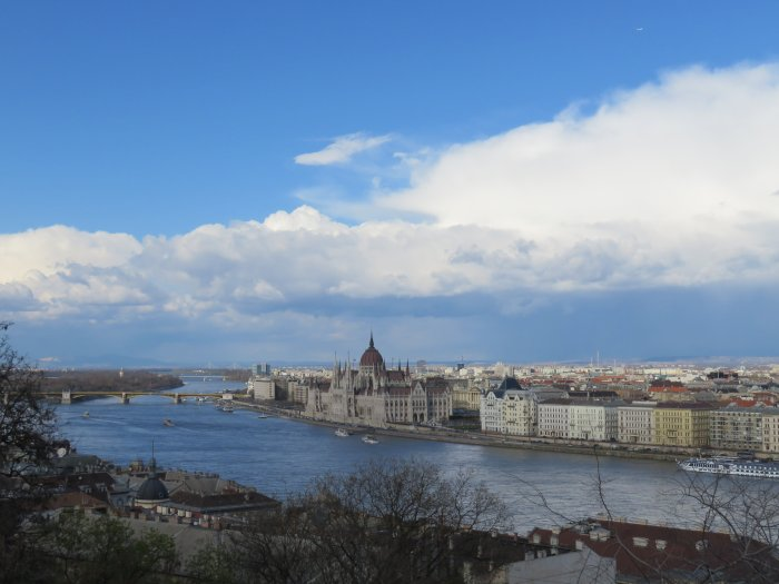 castle hill budapest hungary image