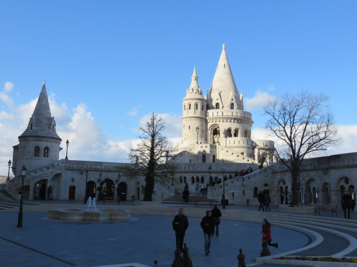 fishermans bastion budapest hungary image