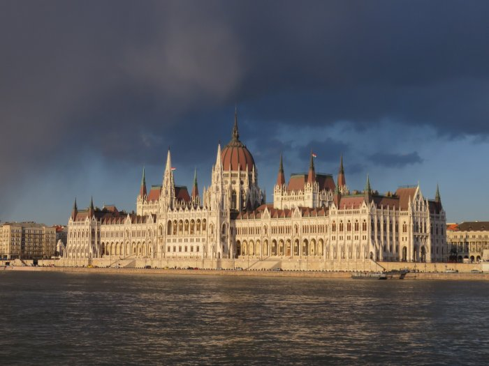 hungarian parliament building budapest hungary image