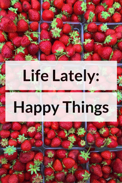 Life Lately: Happy Things