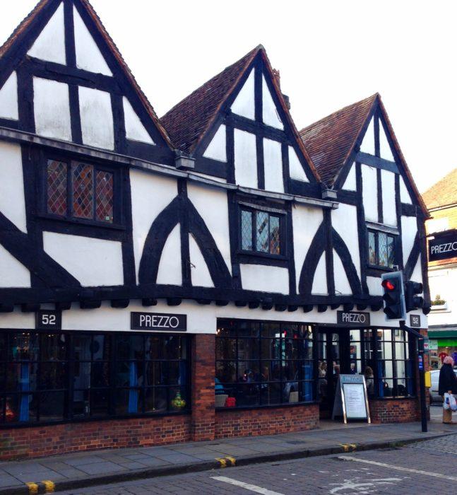 salisbury timbered buildings