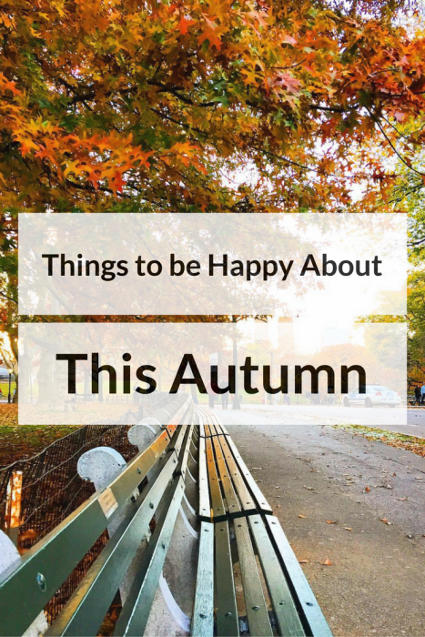 things to be happy about this autumn