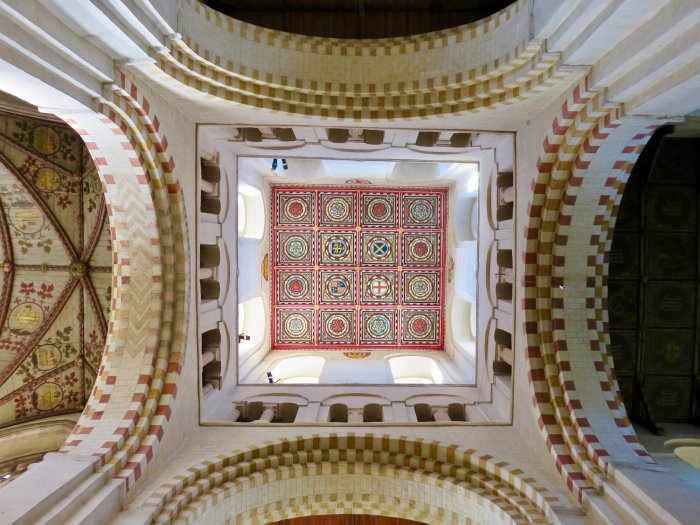 st albans cathedral ceiling