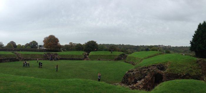 caerleon amphitheatre wales