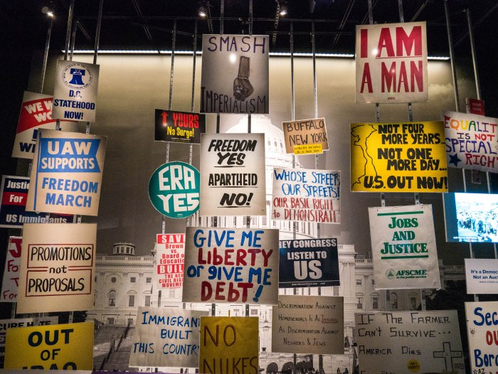 political posters american history museum washington dc exhibit on history of voting rights