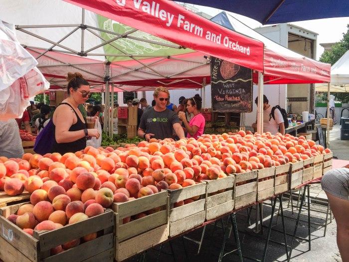 dupont circle farmers market in washington dc