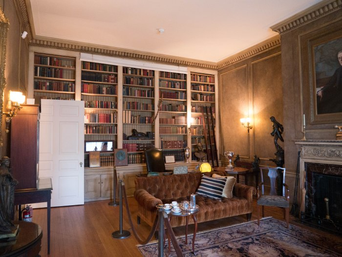 interior of woodrow wilson house in washington dc
