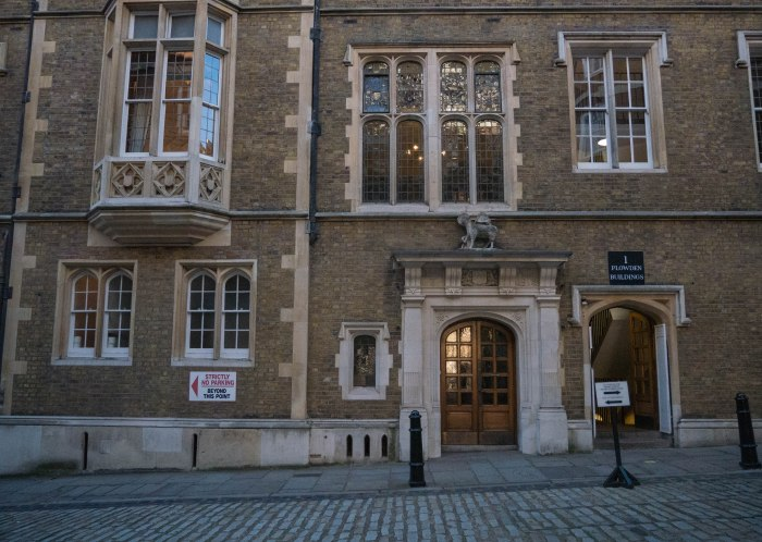 temple london barristers quarters