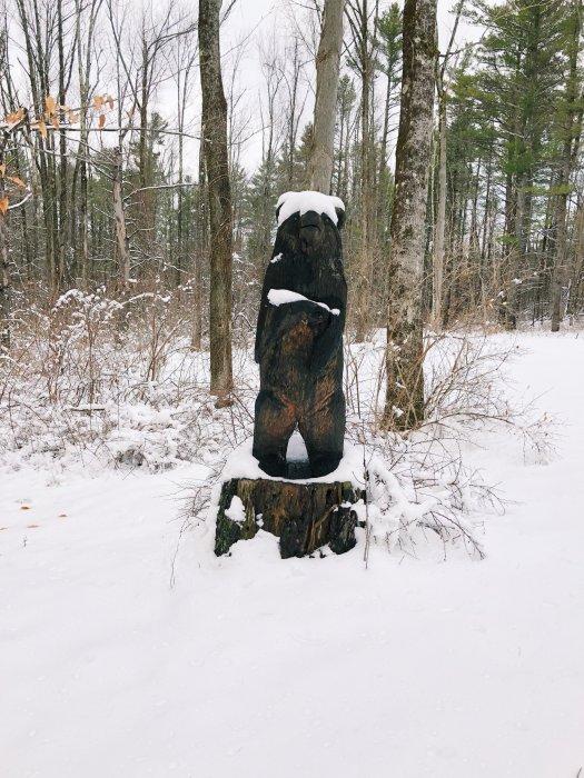 berkshires bear signpost