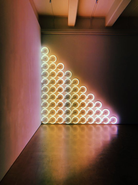 light installation dia beacon