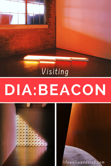 If you're looking for the perfect escape from New York City, head to Dia:Beacon. Dia:Beacon makes a great day trip from NYC. | Beacon New York | Day Trips from NYC | New York State | Hudson Valley Tourism | Dutchess County NY | #beacon #diabeacon #newyorkstate #diabeacon