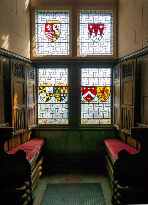 image of the inside of edinburgh castle in edinburgh scotland
