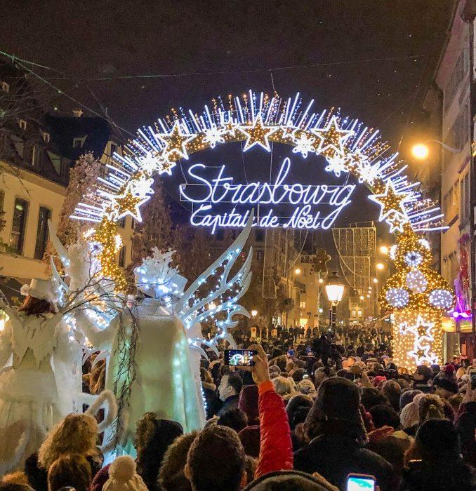 strasbourg capitale de noel christmas market opening ceremony