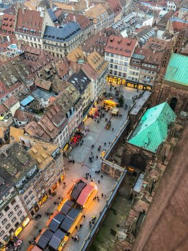 strasbourg cathedral from above 10