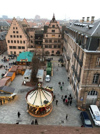 strasbourg cathedral from above 2
