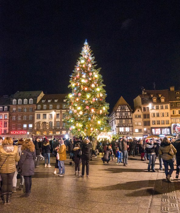 strasbourg christmas tree place kléber