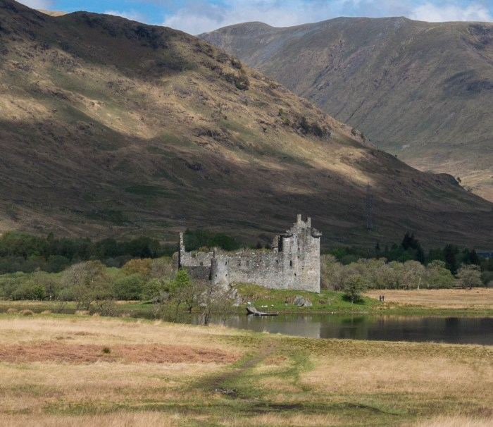 kilchurn castle scottish highlands
